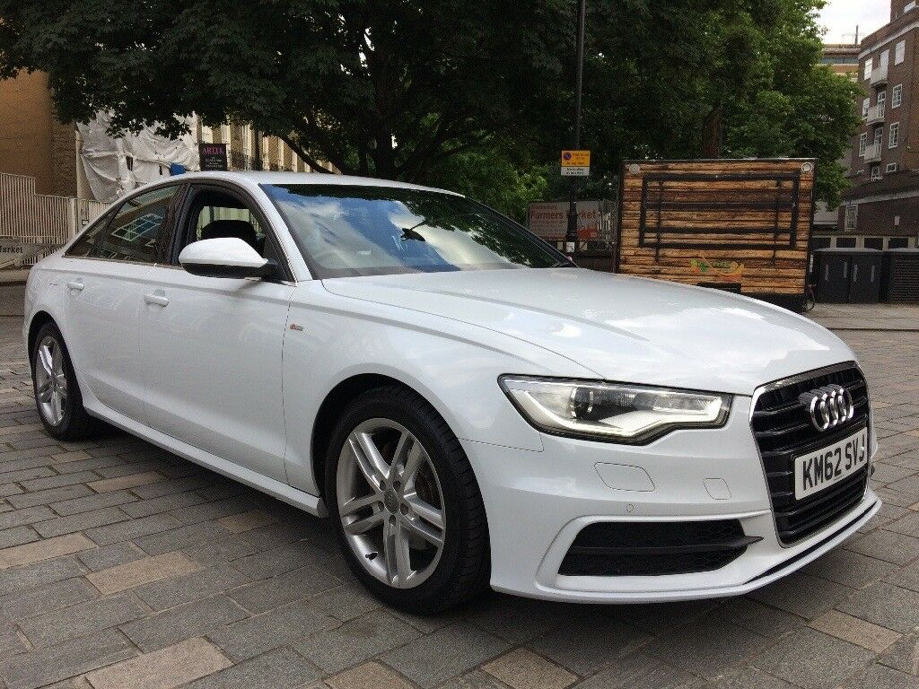 2013 audi a6 s line white automatic full servis history audi hpi clear px welcome in tottenham. Black Bedroom Furniture Sets. Home Design Ideas