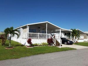 maison a vendre en Floride / prendrait echange motorise 37 et +