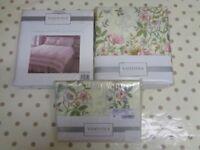 Vantona Brand 'Cottage Garden' Double Bedding Set