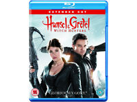 Hansel & Gretel - Witch Hunters [Blu-ray] VGC