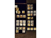 WINDSOR MINT COIN COLLECTION - 40 COINS WITH CERTIFICATES
