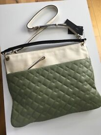 BRAND NEW! Authentic Marc by Marc Jacobs Real Leather Laptop Messenger Bag