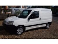 PEUGEOT PARTNER 1.6 HDI 2007/57 132K 12 MONTHS MOT CLEAN VAN DRIVES WELL