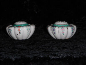 Late Victorian Salt and Pepper Shakers.