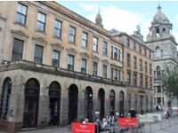 Glasgow City Centre fully furnished 2 bedroom luxury flat in the Italian Centre