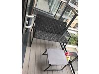 4 seater metal outdoor set