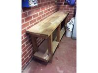 Strong and Sturdy Wooden Work Bench