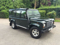 2001 Land Rover 110 Defender 2.5 Td5 County Station Wagon Low Miles