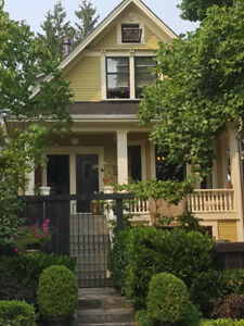**Large Furnished Main Floor of Heritage Home**