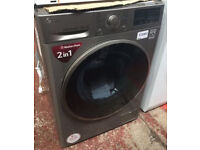 LG washer dryer 9kg / NEW ITEM / comes with guarantee and delivery available