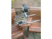 Motorcycle luggage rack (GS850 or others). OFFERS PLEASE
