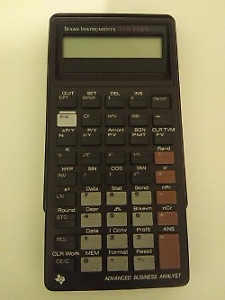 Texas Instruments BAII Plus-Advanced Business Analyst Calculator
