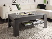 Universal – Coffee Table / cement grey / chunky