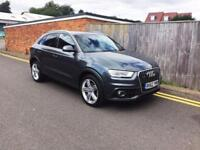 2012 Audi Q3 2.0 TDI S Line S Tronic Quattro 5dr (177PS) ONLY 28K