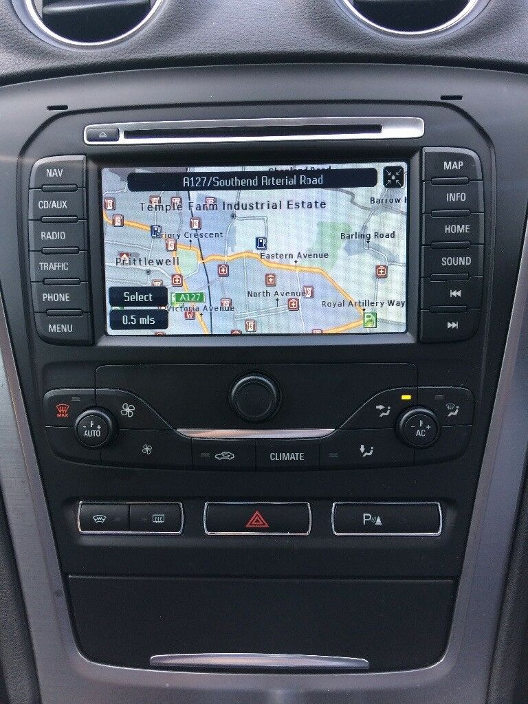 ford mondeo mk4 satelite navigation cd phone system. Black Bedroom Furniture Sets. Home Design Ideas