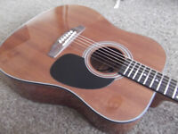 REDWOOD ACOUSTIC WITH PICK UP SYSTEM