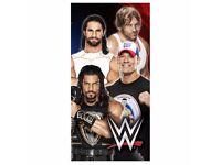 WWE 'SUPER 4' VELOUR TOWEL BRAND NEW
