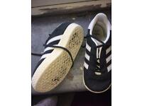 Infant dark grey gazelles
