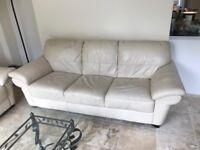 Two 3 seater sofas (excellent condition)