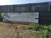 Steel Farm Gates