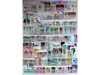 300 different African stamps on a stock sheet (price reduced for quick sale)