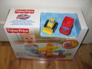 new in box car and tractor  toy