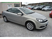 Vauxhall Astra 1.8i 16v Coupe Twin Top Sport CONVERTABLE 2008 MODEL