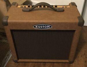 Kustom brand acoustic guitar amp for sale