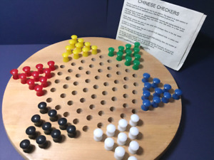 Wooden Chinese Checkers, new