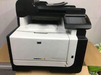 Printer , Scanner , Fax HP Laser Jet Pro CM1415fnw Color MPF