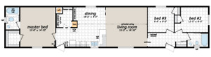 16 x 72 Mobile home with 12 x 10 addition Porch