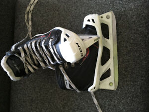 Youth size 13 goalie skates
