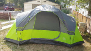 Selling 4 Person tent, 2 chairs, 2 sleeping bags and shelter