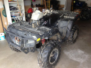 2004 Polaris Sportsman 500 Quad & trailer