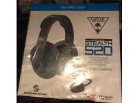 Turtle Beach Ear Force Stealth 520 Headset DTS 7.1 - PS4 and PS4 Pro