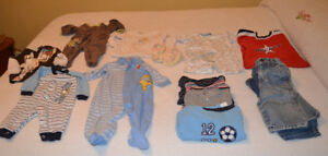 Baby boy clothing 6 - 9 months