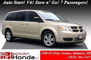 2010 Dodge Grand Caravan SE Auto Start! V6! Stow n' Go! 7 Passen
