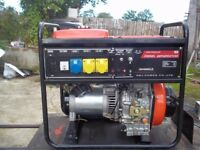 5.3KW NEW AIR COOLED DIESEL GENERATOR WITH AUTOMATIC LOW OIL ALERT,,NEW