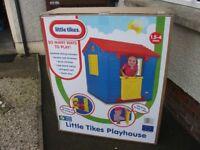 LITTLE TIKES PLAYHOUSE/ BRAND NEW/ £75