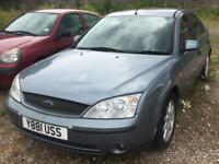 FORD MONDEO 1.8 2001 + LPG CONVERTED + SPARES/ REPAIRS