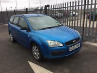 2005 Ford Focus 1,6 litre 5dr estate 2 owners