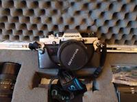 Olympus OM-10 - vintage SLR film camera