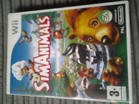 WII game Sim Animals