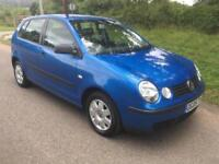 Volkswagen Polo 1.2 VERY LOW MILEAGE + LONG MOT