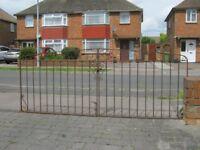 Pair Of Metal Driveway Gates