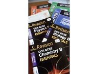 Educational revision guides, teaching and work books.