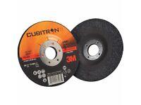 """3M 9"""" GRINDING DISC 27A36Q CUBITRON II T27"""