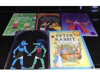 Children's art & craft books things to do Egyptian, Roman, wizard, football & Peter Rabbit