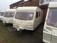 4 BERTH 2005 AVONDALE DART WITH END BATHROOM AND AWNING WE CAN DELIVER PLZ VIE
