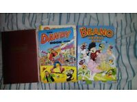 Dandy, Oor Wullie, Denis the Menace and Beano annuals
